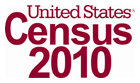 Census 2010 Logo linked to www.census.gov